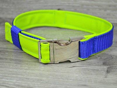 Edelzosse Halsband Apfelgrün-Royal