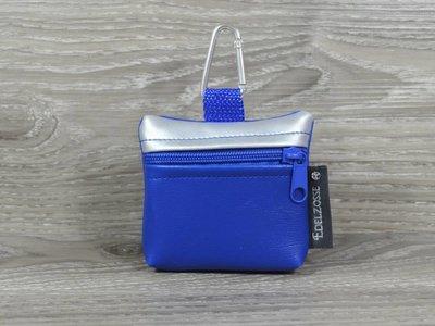 Edelzosse Mini-Tasche Silber-Royal
