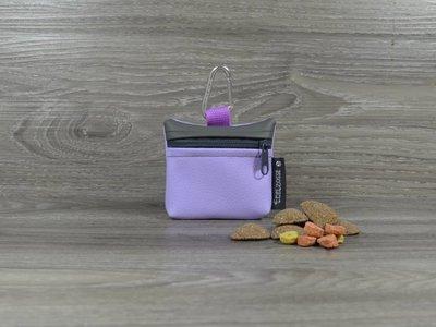Edelzosse Mini-Tasche Flieder-Grau