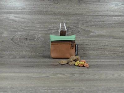 Edelzosse Mini-Tasche Cappucino-Mint