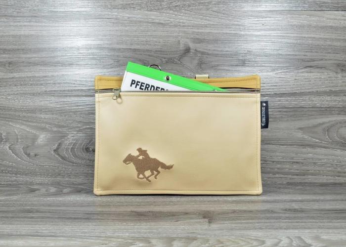 Edelzosse Praktisches Mäppchen für die Aufbewahrung deines Pferdepasses
