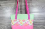 Edelzosse Shopper- Handtasche-Pink-Mint