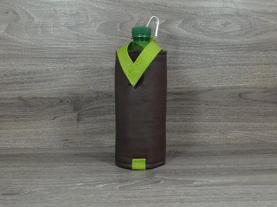 Edelzosse Flaschenhalter Braun- Grün
