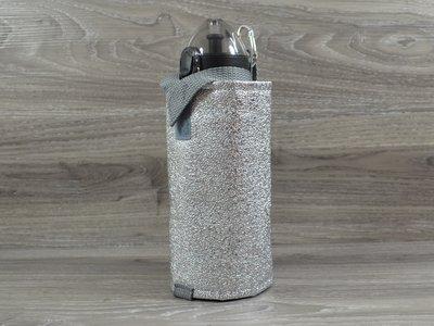 Edelzosse Flaschenhalter Silber inkl. Flasche