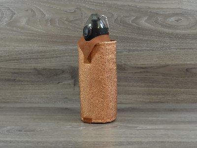 Edelzosse Flaschenhalter Kupfer inkl.Flasche