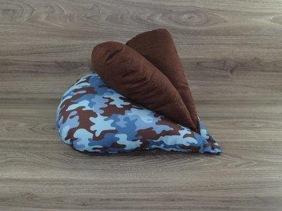 Edelzosse Lesekissen Herzkissen Camouflage