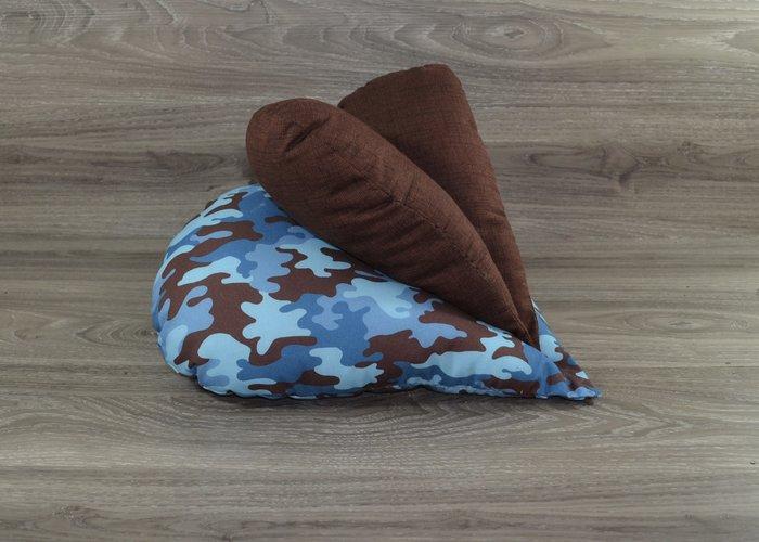 Edelzosse Lesekissen-Herzkissen-Camouflage