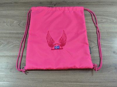 Edelzosse Helmbeutel-Rucksack -Pink