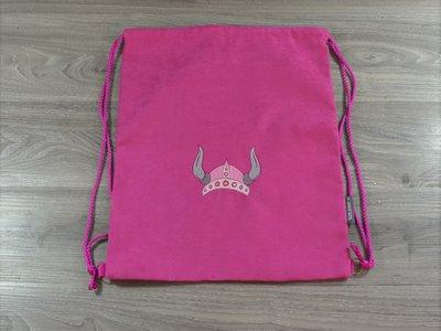 Edelzosse Helmbeutel-Rucksack Pink