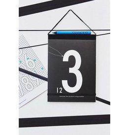 Design Letters Malbuch Zahlen von Design Letters