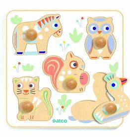 Djeco BabyPuzzi-Steckpuzzle