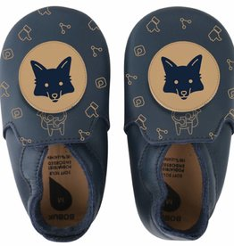 Bobux Bobux Soft Soles Fox navy/beige Limited edition