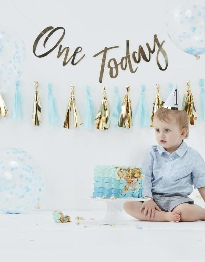 Ginger Ray Geburtstags-Set fuer 1jaehrige Jungs