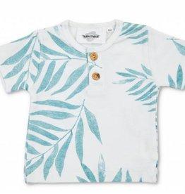 Moumout Kurzarm T-Shirt Palme