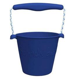 Scrunch Silikonkübel mitternachtsblau