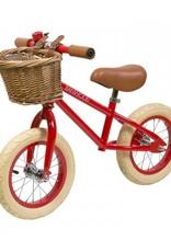 Banwood Holland-Laufrad von Banwood mit Korb und Klingel