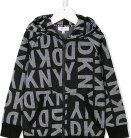 DKNY DKNY Kapuzenweste mit Print