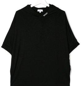 DKNY DKNY Tee-Shirt schwarz mit Kapuze
