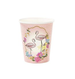 Talking Tables Talking Tables Flamingo Pappbecher