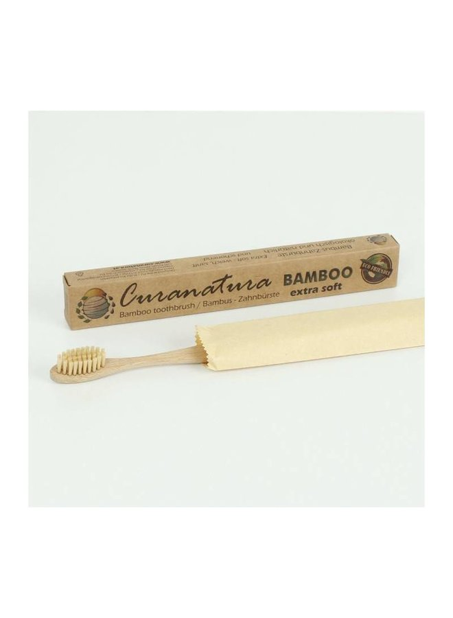 Curanatura Bamboo 'BAMBOO' Toothbrush with Bamboo Bristles bei Pilzessin
