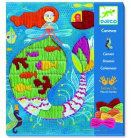 Djeco Djeco Plattstich Meerjungfrau bei Pilzessin