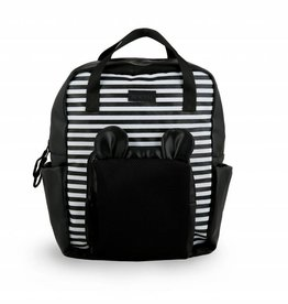 Toosh Bear backpack black & striped