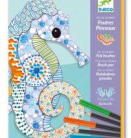 Djeco Djeco Brush Pen Kunstmotive bei Pilzessin