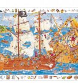 Djeco Djeco Puzzle Piraten bei Pilzessin