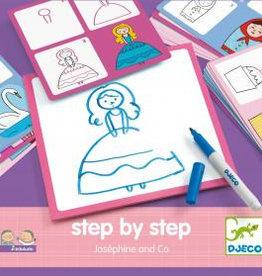 Djeco Step by Step Joséphine & Co bei Pilzessin