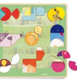 Djeco Djeco Puzzle Ludiform bei Pilzessin