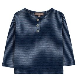 Emile et Ida T-Shirt blau gestreift