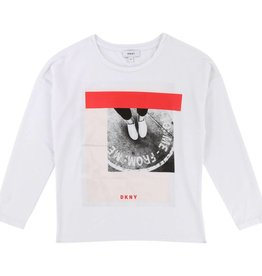 DKNY Langarm T-Shirt mit Print von DKNY bei Pilzessin