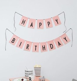 Design Letters Geburtstags Girlande von Design Letters bei Pilzessin