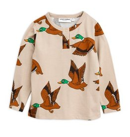 MINI RODINI Enten Langarm T-Shirt von Mini Rodine bei Pilzessin