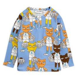 MINI RODINI Cheercats Langarm T-Shirt von Mini Rodini bei Pilzessin