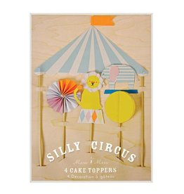 Meri Meri Tortenaufsätze von Silly Circus von Meri Meri bei Pilzessin