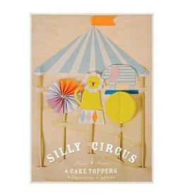 Tortenaufsätze von Silly Circus von Meri Meri bei Pilzessin
