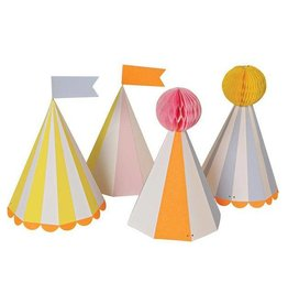 Meri Meri Partyhüte Silly Circus von Meri Meri bei Pilzessin