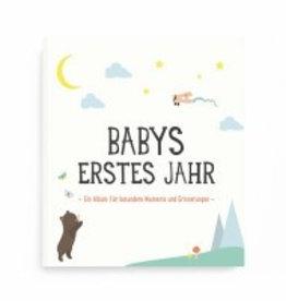"Milestone Album ""Babys erstes Jahr"""