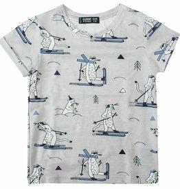 Short Sleeve T-Shirt Snow Weasel