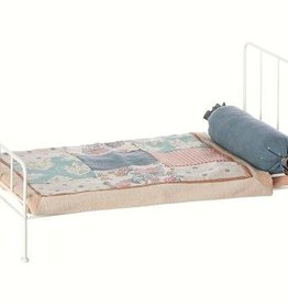 Maileg Metall bed medium, offwhite
