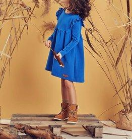 Blue Frilled Lo Dress
