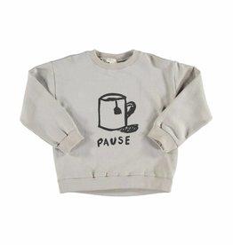 Piupiuchick Sweatshirt grey with pause von Piupiuchick bei Pilzessin