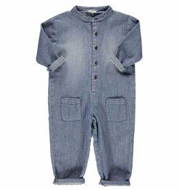 Piupiuchick Jumpsuit washed blue denim jeans von Piupiuchick bei Pilzessin