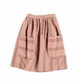 Piupiuchick Midi skirt. Pale pink w/coloured von Piupiuchick bei Pilzessin