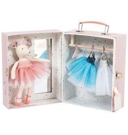 Moulin Roty Koffer Maus Ballerina von Moulin Roty bei Pilzessin