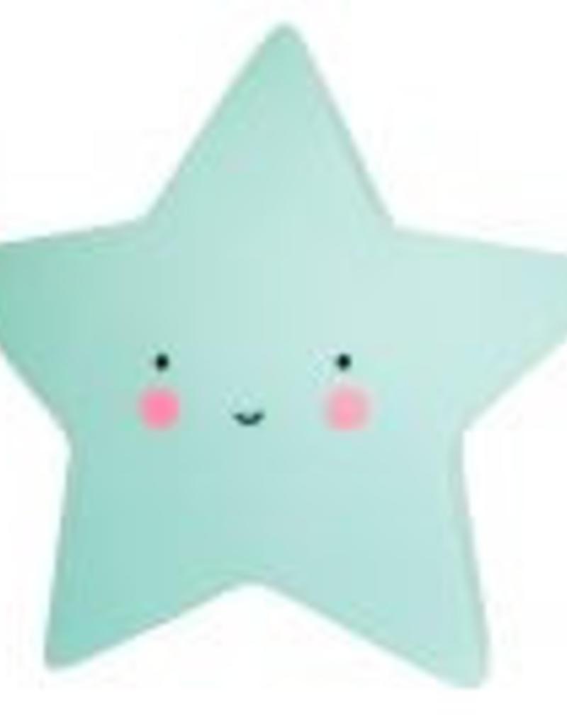 A little lovely company Nachtlicht Stern mint  von A little lovely Company bei Pilzessin