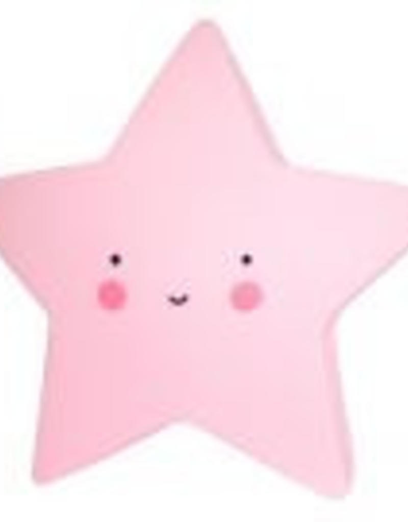 A little lovely company Nachtlicht Stern pink von A little lovely Company bei Pilzessin