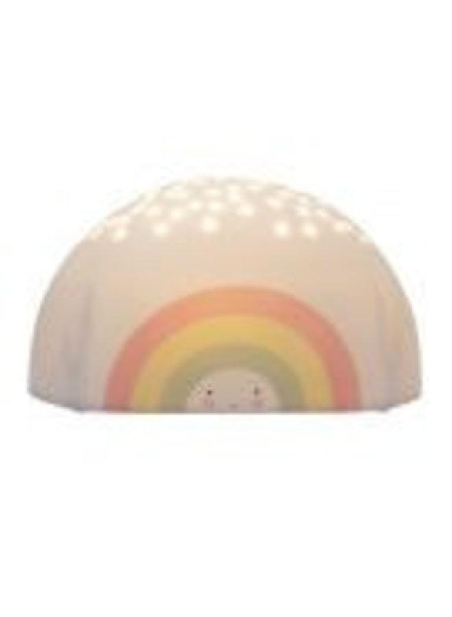 Projektorlicht Regenbogen von A little lovely Company bei Pilzessin