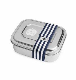 Brotzeit Brotzeit ZWEIER Lunchbox Streifen blau bei Pilzessin